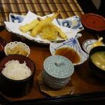 いけす割烹谷久 - 天ぷら定食