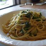 ラ・エトワール  - 野菜,にんにくオリーブオイルパスタ