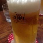 42344366 - ビールは北海道生絞り