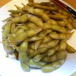 Chinese Tapas Hachi - 枝豆の紹興酒漬け