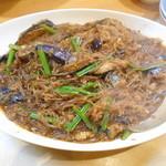 Chinese Tapas Hachi - 茄子のマーボー