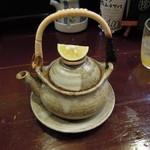 アジト - 土瓶蒸し
