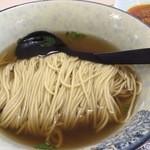 一麺春風 - 春風辣肉麺(肉みそトッピング前)