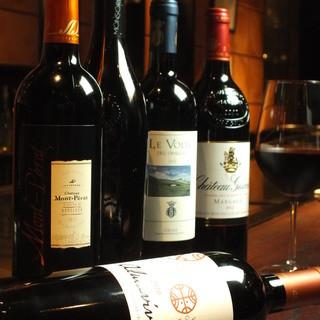 上質なお肉と美味しいワインで贅沢なひと時を