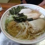 さざなみ - 料理写真:塩ラーメン650円