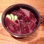 北海ひがし - マグロ丼 1000円