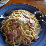イタリアンレストランバーココロ - カルボナーラ(ランチセット950円)これは、お薦め!