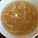 鴻福門 - セットスープ