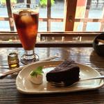喫茶去かつて - 紅茶とガトーショコラ