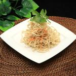 鵬天閣 酒家 - 干し豆腐の和え物