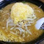 くるまやラーメン - 味噌チーズラーメン