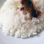 随園別館 - セットご飯たべるラー油のせ