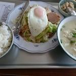 42358927 - ゆし豆腐セット¥700