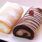 パティスリー シュクレ - 料理写真:SUCRE自慢のロールケーキたちです。