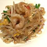 タイレストラン タニサラ - パッタイ(米粉の麺のタイ風焼きそば)