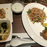 タイレストラン タニサラ - パッタイセット 税込1280円