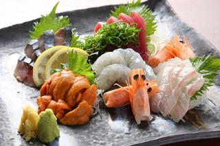 やまかし 国分寺店 - 旬の鮮魚!お刺身3点盛