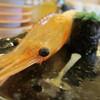 Kaitenzushitoriton - 料理写真:でっかいぼたんえび(顔)