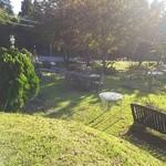 英国の風 マナーハウス - 庭も広い
