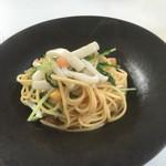 リストランテ カルド - 料理写真:アオリイカとアンチョビのパスタ