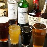 ガウディウム - ビールの他にもウイスキーなどあります