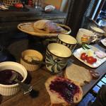 民宿 フィールドノート - 朝食の模様!