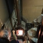 民宿 フィールドノート - お風呂の熱源、