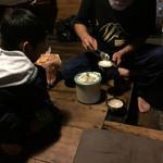 民宿 フィールドノート - 山桃とミルクの自家製アイスクリーム!