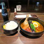 奥芝商店 白石オッケー丸 - 骨付鶏カリーの旅+コーラー(1,000円+250円)