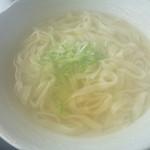ちゅーりっぷ - 塩うどんUP