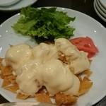 京鼎樓 - エビマヨ えびぷり、外側カリッっで大変美味しかった。