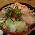 まつおか - 海鮮丼¥1200
