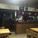 東家 - 店内は昭和感溢れる超レトロ。