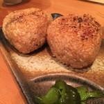 本気炭火焼鶏 豆 - ☆焼きおにぎり(#^.^#)☆