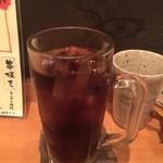 本気炭火焼鶏 豆 - ☆シュワァワァ~コーラも☆