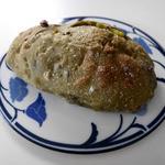 あらぱん - 抹茶と黒豆にホワイトチョコのパン