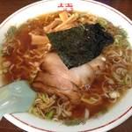 中華そば マル真 - 醤油 太麺