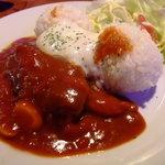 マハロ - ロコモコ(ランチ600円)