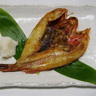 寿司竜 - 料理写真:2010年4月のおすすめ きんき焼き 3675円