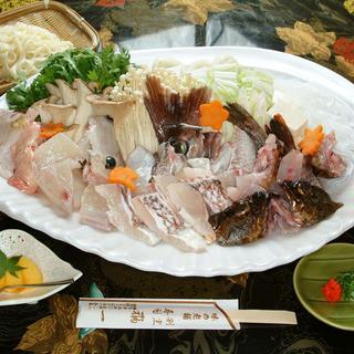 魚ちりコース(10月~3月)…4,620円