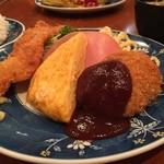 グリル金プラ - 洋食ランチ