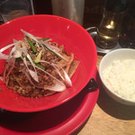 船場担担麺 - 汁なし担々麺 並 730円