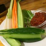 肉酒場 エコヒイキ - 野菜スティック