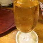 肉酒場 エコヒイキ - なみなみ白ワイン