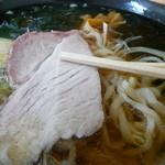 石井食堂 - 白ダレラーメンチャーシューアップH27.9.26