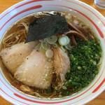 喜元門 - 名古屋コーチン・醤油、低音チャーシュー(700円)
