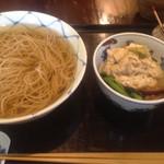 花野そば - 2015年9月29日  湯葉そば