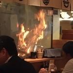 土佐清水ワールド - 焼いてる焼いてる〜〜♪