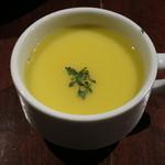 カフェ マツオントコ - ランチのスープ