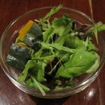 カフェ マツオントコ - ランチのサラダ